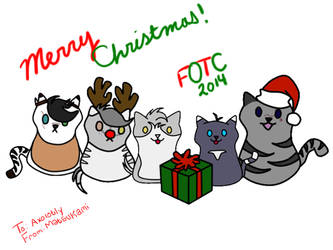 Secret Santa:Happy Holidays! by MatsuKami
