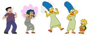 Marge Simpson TF/TG (No Mom Jeans Here) (by Anon) by Dommerik