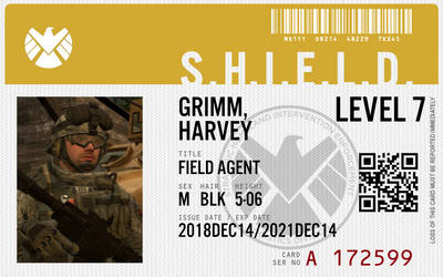 Grimm's S.H.I.E.L.D. ID by TheOperations