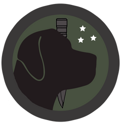 New Black Hound Black Ops Logo by TheOperations