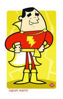 Captain Marvel... by Montygog
