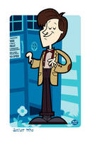The 11th Doctor by Montygog