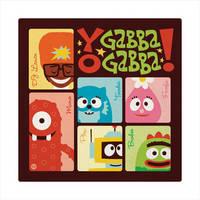 Yo Gabba Gabba by Montygog