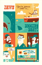 Jaws by Montygog