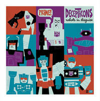 Decepticons by Montygog