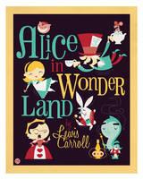 Alice in Wonderland by Montygog