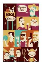 Big Lebowski by Montygog