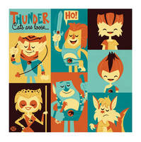Thundercats by Montygog