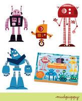 Robots by Montygog