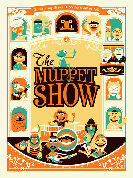 The Muppet Show by Montygog