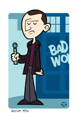 The 9th Doctor by Montygog