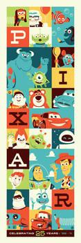 Pixar 25 by Montygog