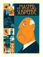 The Master of Suspense by Montygog