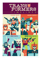 Transformers Timelines by Montygog