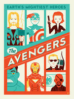 Avengers by Montygog
