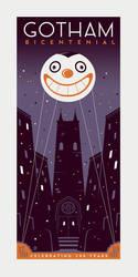 Gotham Bicentennial by Montygog