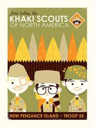 Khaki Scouts by Montygog