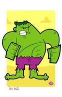 The Incredible Hulk by Montygog
