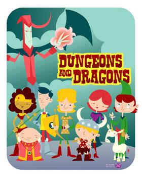 Dungeons n' Dragons by Montygog
