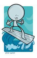 Silver Surfer by Montygog