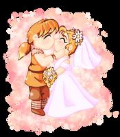 CliffxAnn Wedding by Butterscotch25