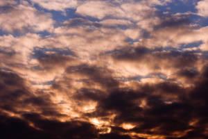 FLECKED DAWN SKY STOCK by ArwenArts