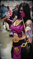Mortal Kombat X Mileena Cosplay part 1 by SereneSeptember