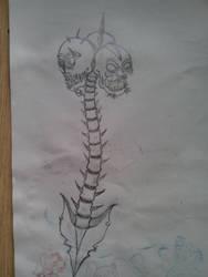 The Skull bashi thingy by Martinkarovic