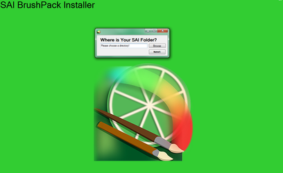 SAI Brush Installer by aldude999