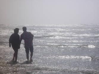 Water Walk by rajivm