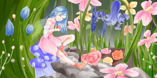 Secret Garden [COM] by Beea-chan