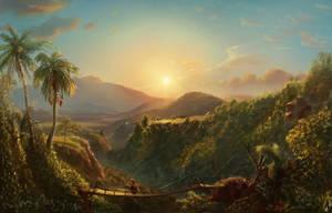 Masterstudy: Frederic Church - Pichincha by danielwachter