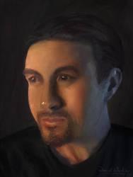 Self Portrait by danielwachter