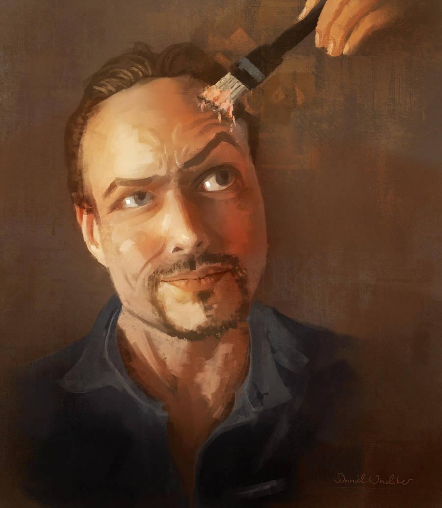 Self Portrait 2 by danielwachter