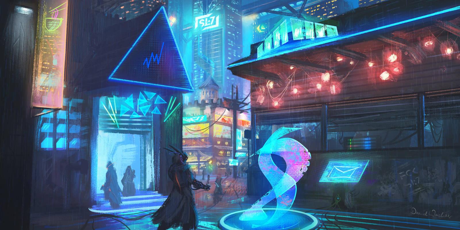 Cyberpunk-Stormwind by danielwachter
