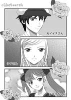 Manga page practice by Khateerah