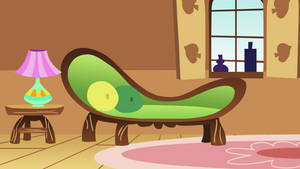 Fluttershy's Living Room by CloudyGlow