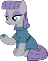 Maud Pie and Boulder by CloudyGlow