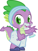 Morning, Spike. by CloudyGlow