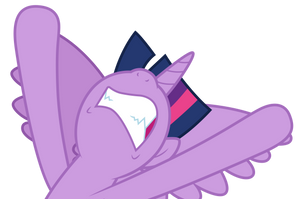 Twilight Sparkle gritted teeth by CloudyGlow