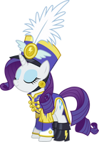 Rarity in Uniform by CloudyGlow