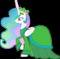 Princess Celestia as the Enchantress by CloudyGlow