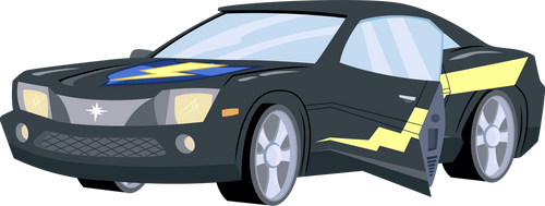 Flash Sentry's car by CloudyGlow
