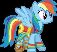 Movie Magic Rainbow Dash by CloudyGlow