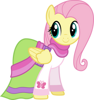 Movie Magic Fluttershy by CloudyGlow