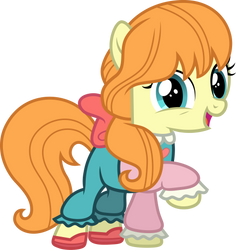 Megan Williams pony by CloudyGlow