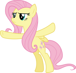 No Pass Fluttershy by CloudyGlow