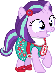 Starlight Glimmer as Kit Kittredge by CloudyGlow