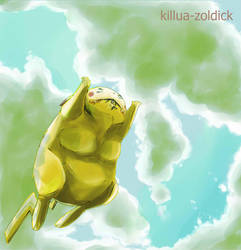 megachu and ry by Killua-Zoldick