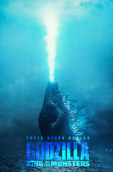 Godzilla King Of Monsters fanmade poster by NazmussShakib3